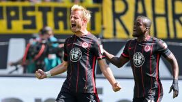 Opportune Aigner gives Frankfurt survival boost with Dortmund win