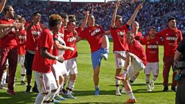 Celebration time for Bayern in Ingolstadt