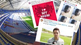Mother's Day messages from across the Bundesliga