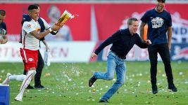 RB Leipzig's promotion party