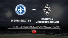 Darmstadt and Gladbach in party mood on final day