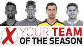 Team of the Season: Mkhitaryan fends off Coman