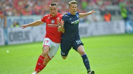 Mainz hold off Hertha to claim sixth
