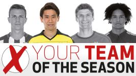 Team of the Season: Kagawa, your attacking midfielder