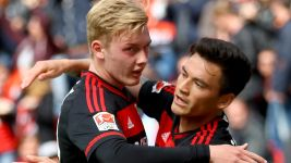 Brandt 'proud' of Leverkusen's achievements