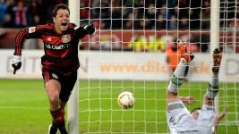 Chicharito's 2015/16 goals