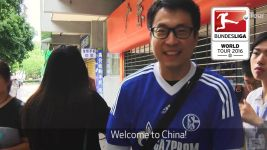 SchalkeInChina: Warm welcome
