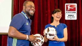 Asamoah winning hearts in China