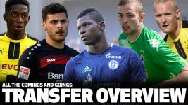2016/17 transfer overview
