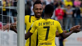 Dembele settling at Dortmund