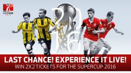 Win Supercup tickets!