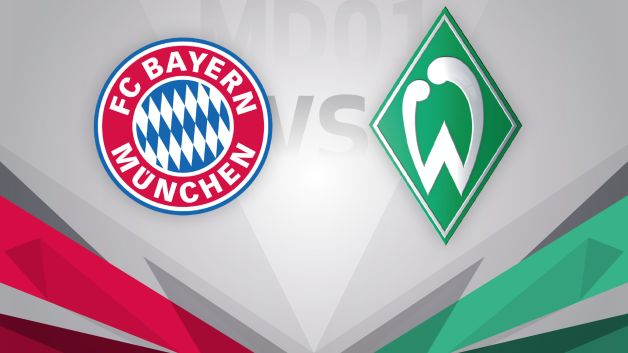 bundesliga matchday 1 fc bayern m nchen sv werder bremen preview. Black Bedroom Furniture Sets. Home Design Ideas