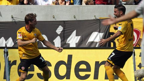 Dresden vergoldet Start