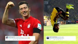 Lewandowski v Aubameyang: the race is on