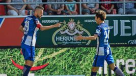 Clinical Hertha down Ingolstadt