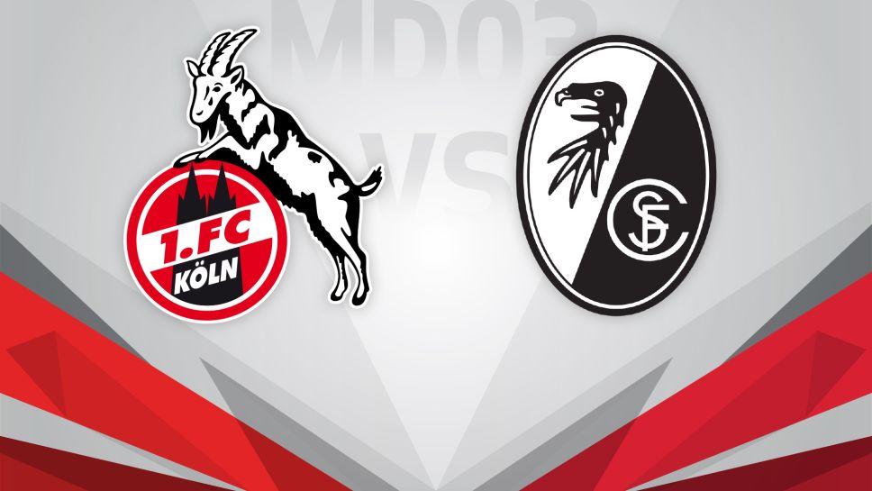 Bundesliga Köln Freiburg