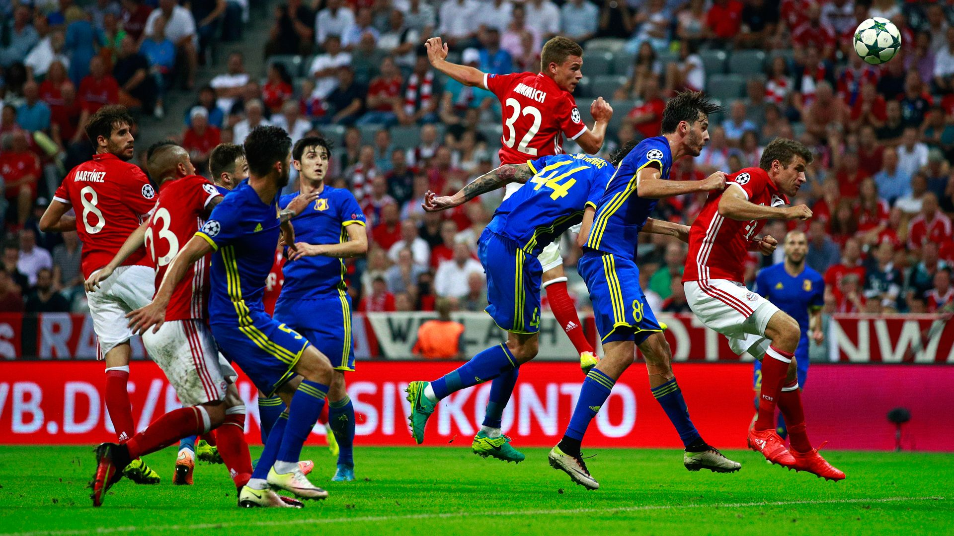 Bayern 5-0 Rostov  as it happened! e1dc6bf5a