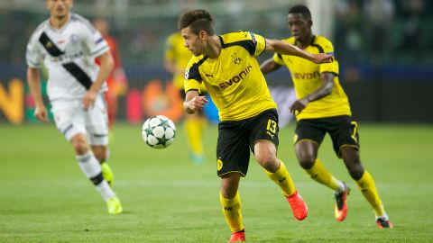 Team news: Dortmund v Darmstadt