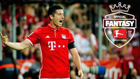 Official Fantasy Bundesliga top five point scorers