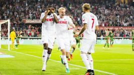 Modeste sends Köln top