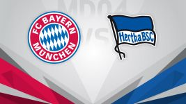 Top two tussle as Bayern face Hertha