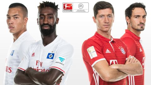 FIFA 17 Predicts: Hamburg vs Bayern