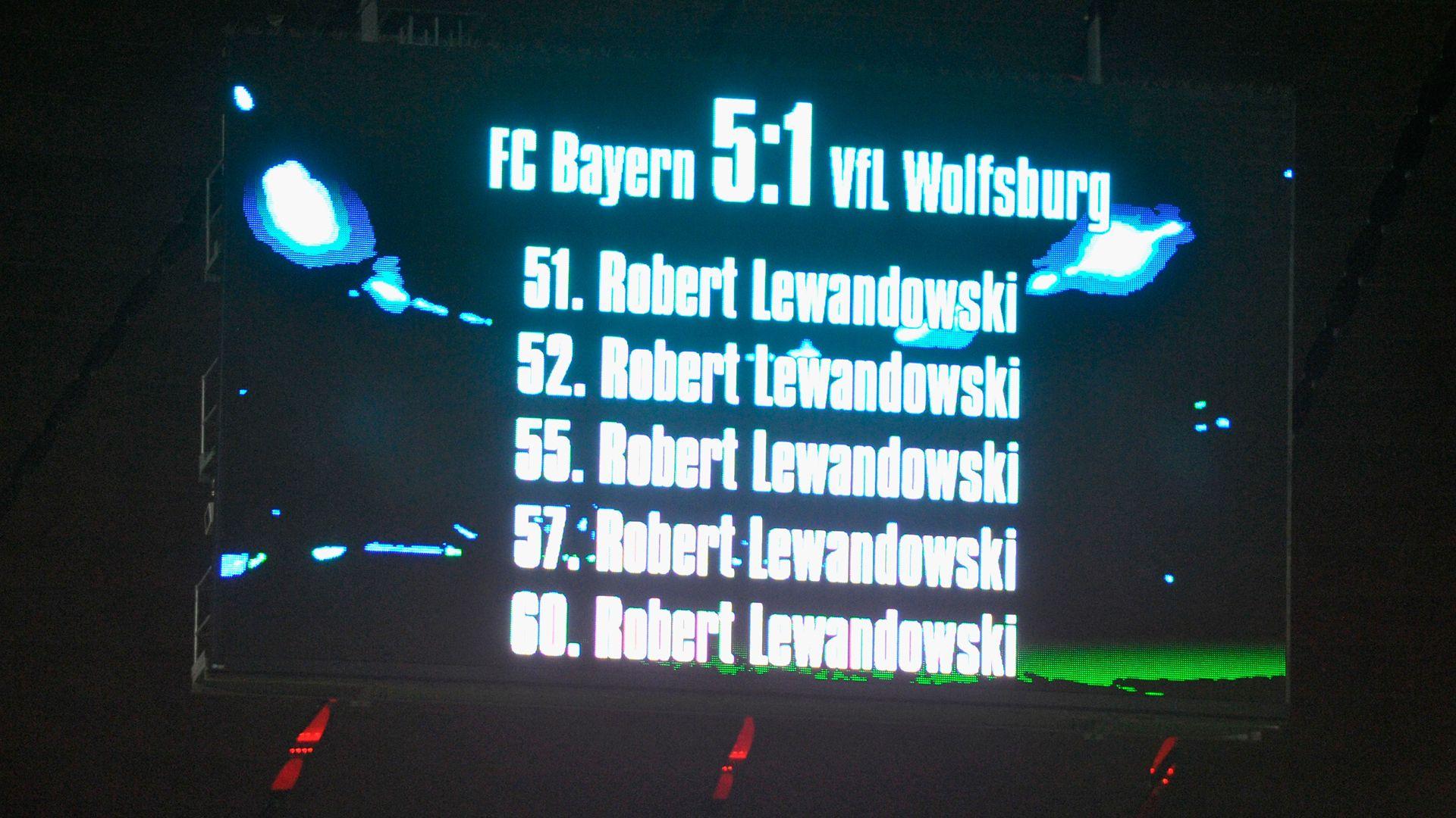 Image result for lewandowski 5 goals