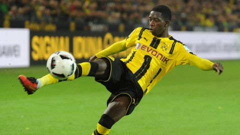 Dembele: 'Really happy at Dortmund'