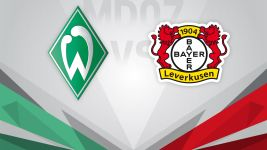 Improving Bremen and Leverkusen collide