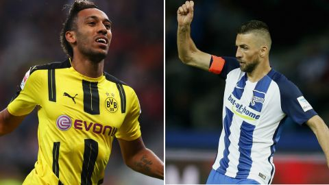 Aubameyang v Ibisevic on Friday