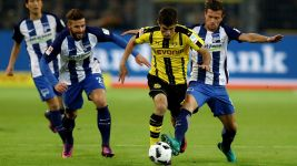 Honours even between Dortmund and Hertha