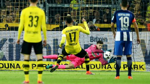 Watch: Dortmund 1-1 Hertha - highlights
