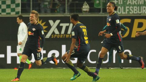 Watch: Wolfsburg 0-1 Leipzig - highlights