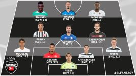#BLFantasy - Matchday 7 Team of the Week
