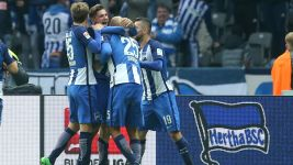Watch: Hertha 2-1 Köln - highlights