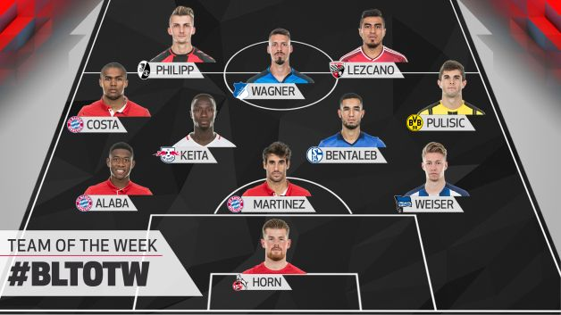 Watch matchday 8 team of the week - German league fixtures results table ...