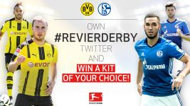 Rule the #Revierderby and win a shirt!