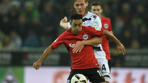 All square between Gladbach and Frankfurt