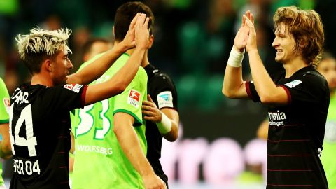 Leverkusen heap more misery on Wolfsburg