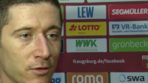 Watch: Lewandowski talks goals