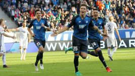 Hoffenheim edge past Hertha to go third