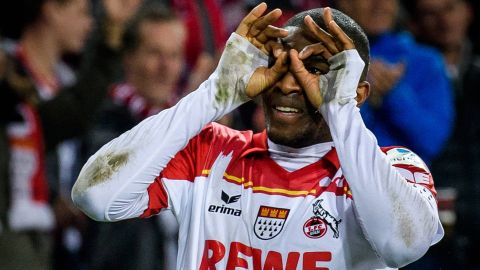 Modeste hat-trick downs Hamburg