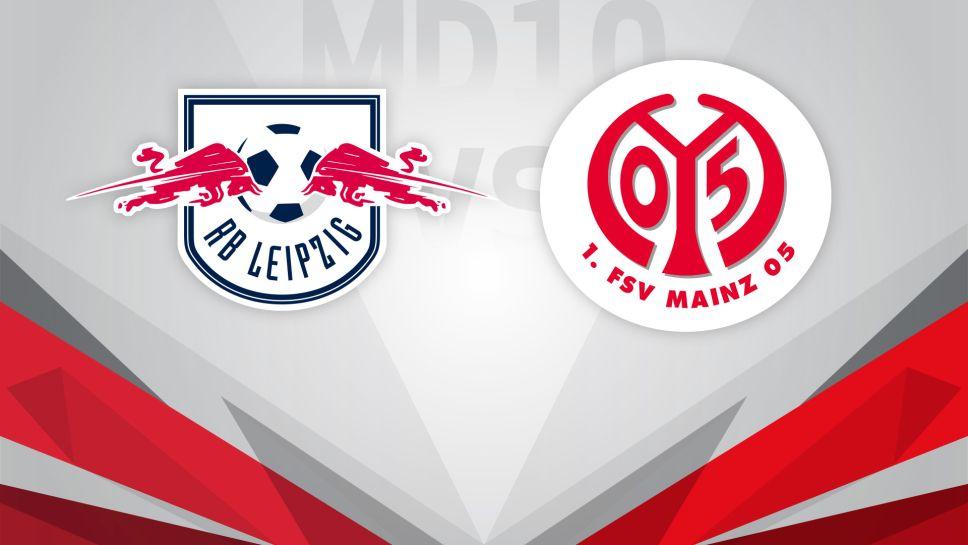 Bundesliga Matchday 10 Match Preview Rb Leipzig Vs 1 Fsv Mainz 05
