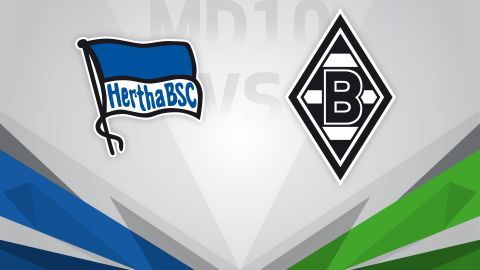 Hertha out to punish travel-sick Gladbach