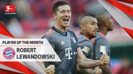 Watch: Lewandowski wins Player of Month