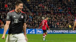 Lewandowski among Champions League's best