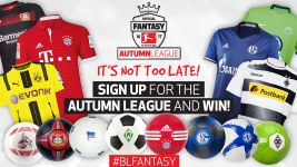 The Autumn League prizes on offer!