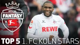 Watch: Köln's top 5 Fantasy players