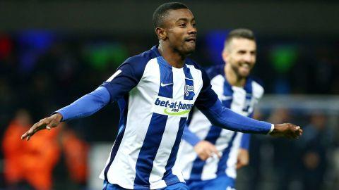 Hertha's Kalou too hot for Gladbach