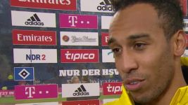 Watch: Aubameyang pleased with four-goal haul